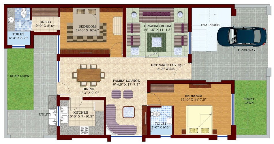 200 yards floor plan duplex chepandi vayya old 200 yards house design